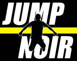 Play Jump Noir - a monochromatic Jump & Run