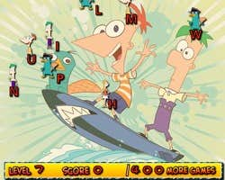 Play Phineas and Ferb Typing