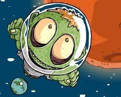 Play Zombie Head Mars