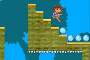 Play Dora In Gem Land