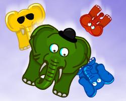 Play Falling Elephants