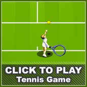 Play tennis game