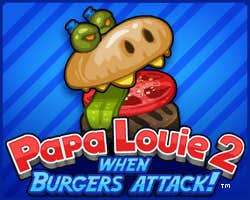 Play Papa Louie 2: When Burgers Attack!