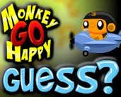 Play Monkey GO Happy Guess?