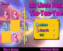 Play My Little Pony Tic-Tac-Toe