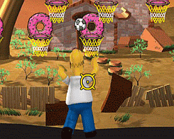 Play Simpson Hoops