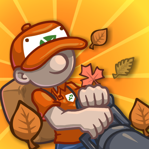Play Leaf Blower Madness!