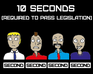 Play 10 Seconds (To Pass Legislation)
