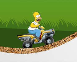Play Simpson Starving Rush