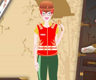 Play War Reporter Dress Up