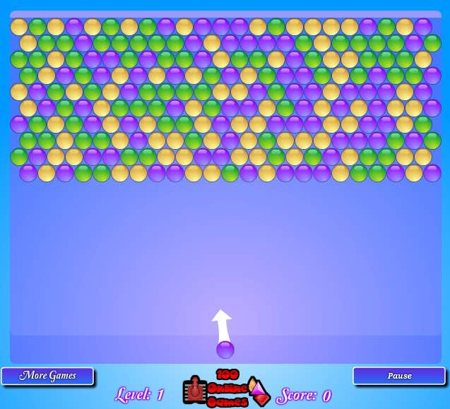Play Classic Bubble Shooter