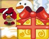 Play Angry Birds Bombers Christmas