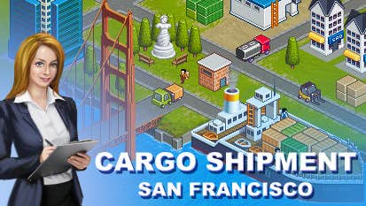 Play Cargo Shipment: San Francisco