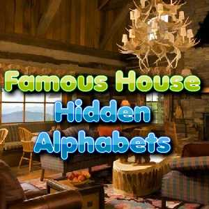 Play Famous House Hidden Alphabets