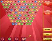Play Bubble Shooter Valentine