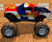 Play Monster Wheels 3D