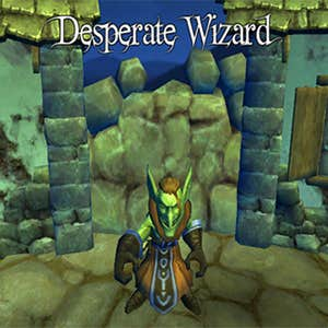 Play Desperate Wizard