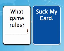 Play Suck My Card CCG