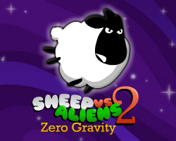 Play Sheep vs Aliens 2 - Zero Gravity