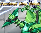 Play Combine! Dino Robot - Ptera Green