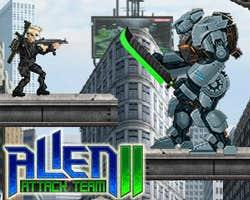 Play Alien Attack Team 2
