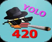 Play MLG Flappy Bird 420