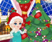 Play Elsa Christmas Slacking