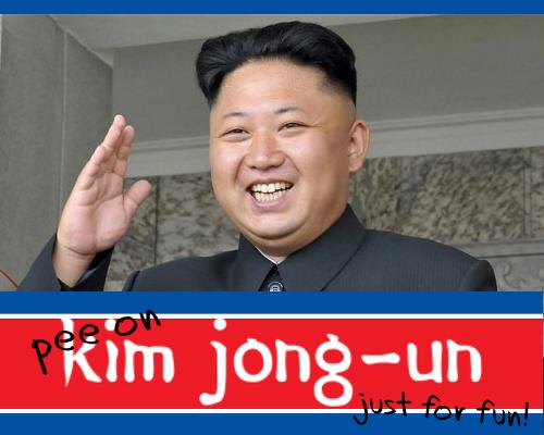 Play Pee on Kim Jong-un just for Fun Fun!