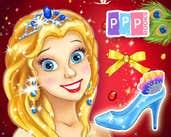 Play Cinderella Shoes Designer
