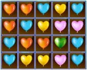 Play Valentines Heart Balloons