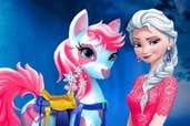 Play  Elsa Pony Caring