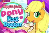 Play Apple Jack Pony Feet Doctor