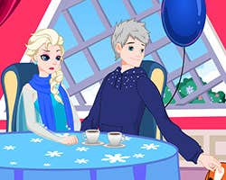 Play Elsa Valentines Day Slacking
