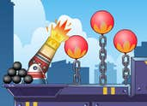 Play Cannon Burst Balloon