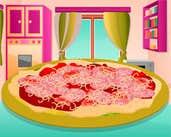 Play Make Salami Pizza