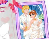 Play Princess Anna Wedding Invitation