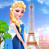 Play Elsa goes to Paris