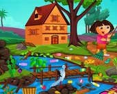 Play Dora Outdoor Cleaning