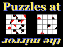 Play Puzzles at the mirror