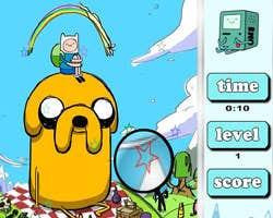 Play Adventure Time Hidden Stars
