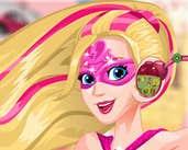 Play Barbie Superhero Ear Problems