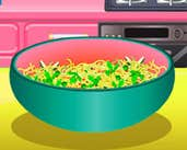 Play Veggies And Egg Pasta