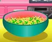 Play Veggies And Egg Pasta