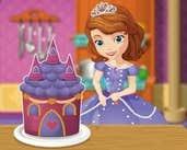 Play Sofia Cooking Princess Cake