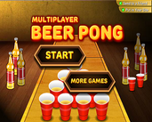 Play Multiplayer beer pong
