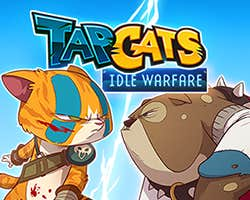 Play Tap Cats - Idle Warfare