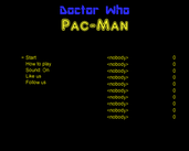 Play Doctor Who Pac Man