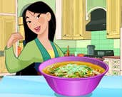 Play Mulan Makes Noodle Soup
