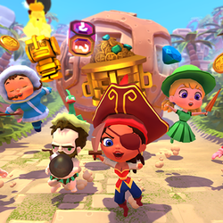 Play Marooners: Multiplayer party minigames