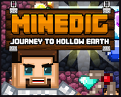 Play Minedig Journey to Hollow Earth